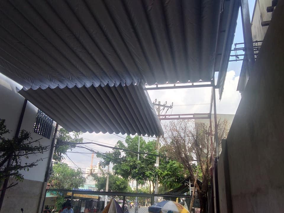 Mái che quán cafe sân vườn chất lượng