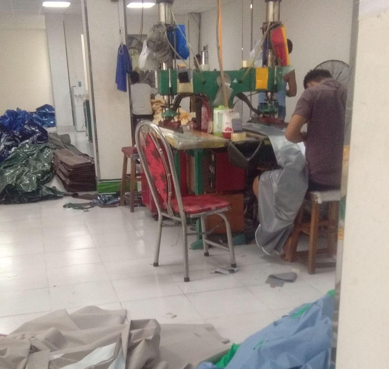 Gia công bạt tại xưởng